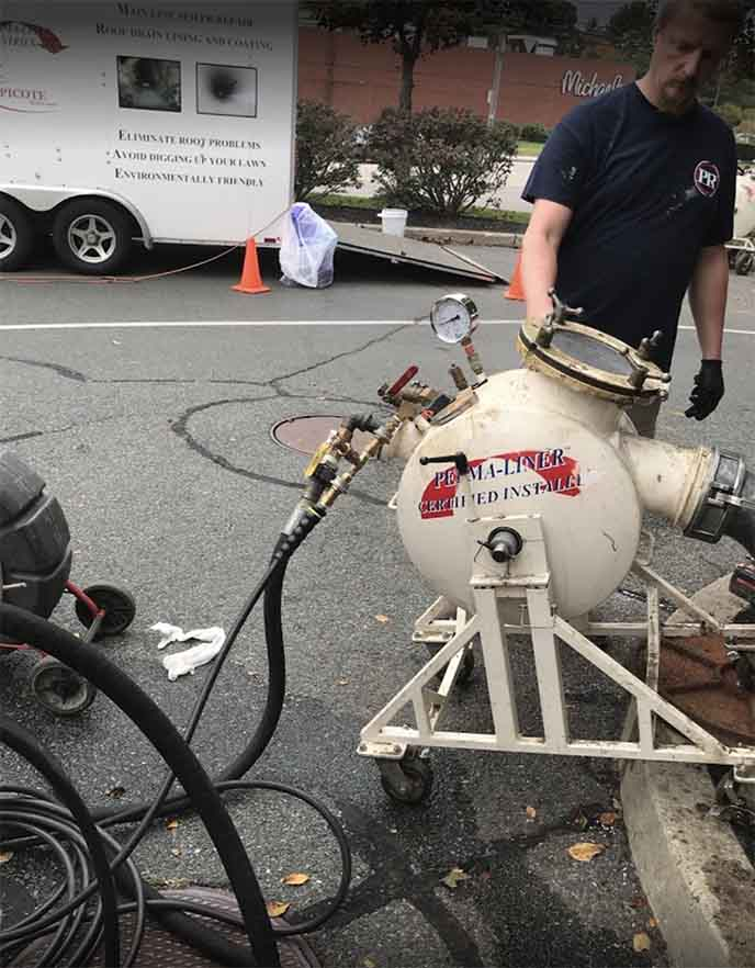 trenchless pipe repair in Boston, MA
