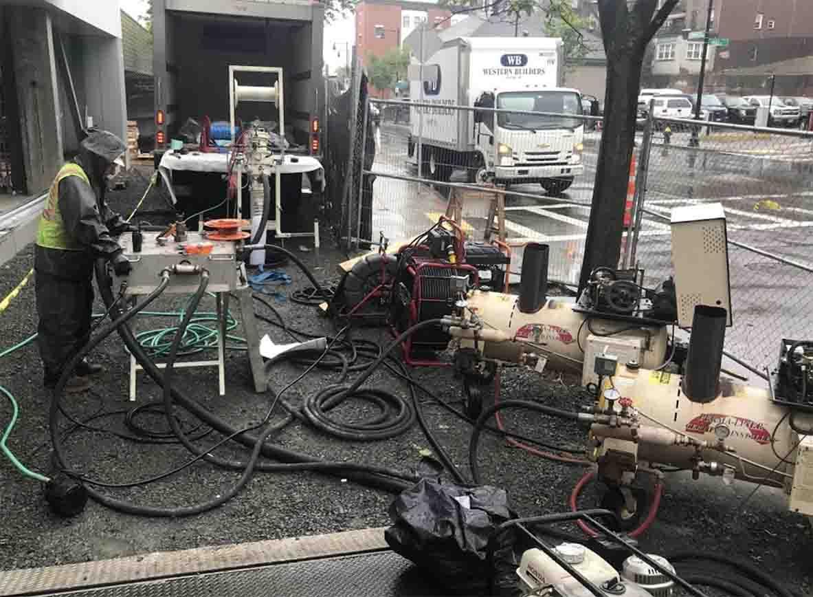 trenchless pipe repair in Framingham, MA
