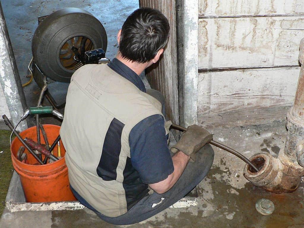 clogged drain in Newton, MA
